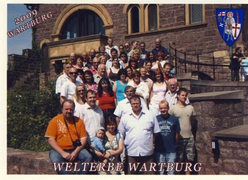 Gruppenbild Wartburg